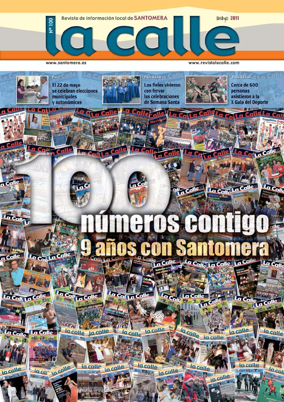 La 20calle 20100 20web By Revista La Calle Santomera Issuu # Muebles Laura Santomera