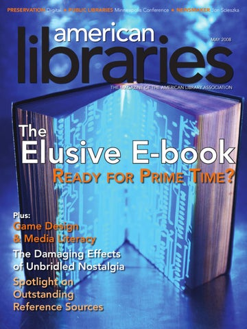 May 2008 by american libraries issuu page 1 fandeluxe Choice Image