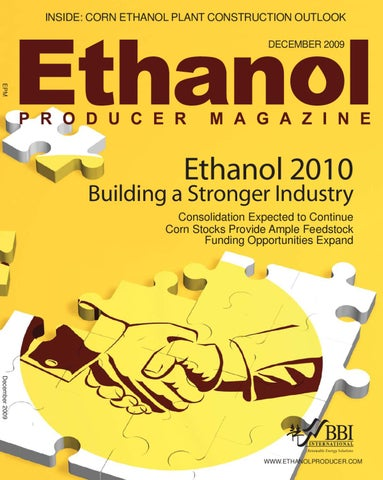 December 2009 Ethanol Producer Magazine by BBI International