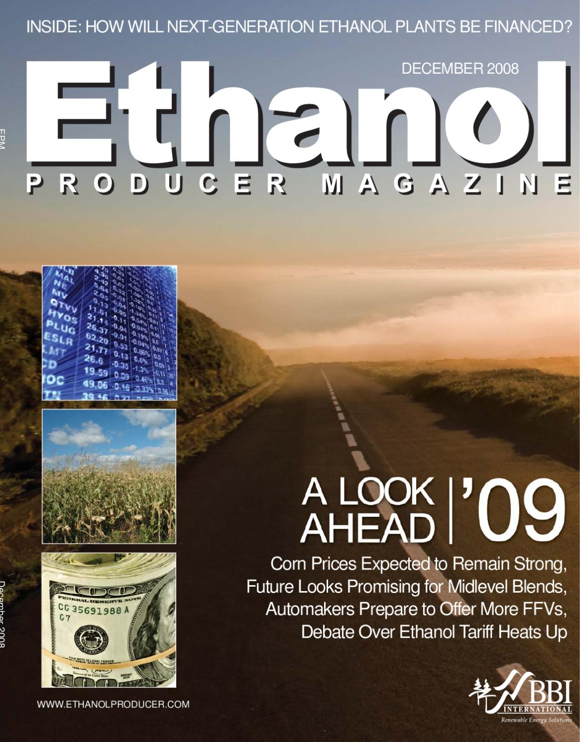 December 2008 Ethanol Producer Magazine By Bbi International Issuu Price Per Unit Printed Circuit Board And Panel Fits Gilbarco Encore