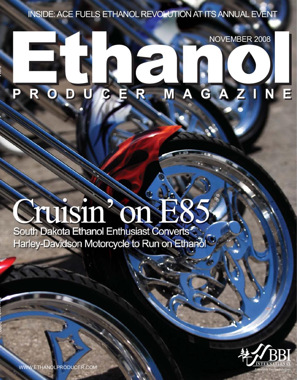 November 2008 Ethanol Producer Magazine by BBI International