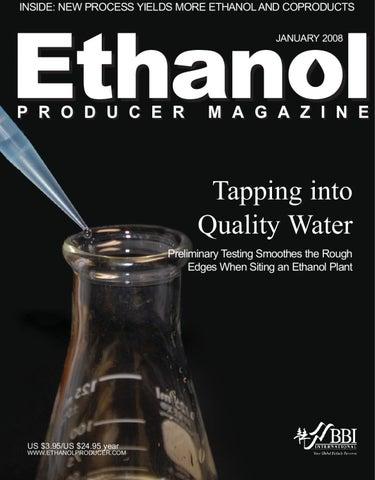 January 2008 Ethanol Producer Magazine