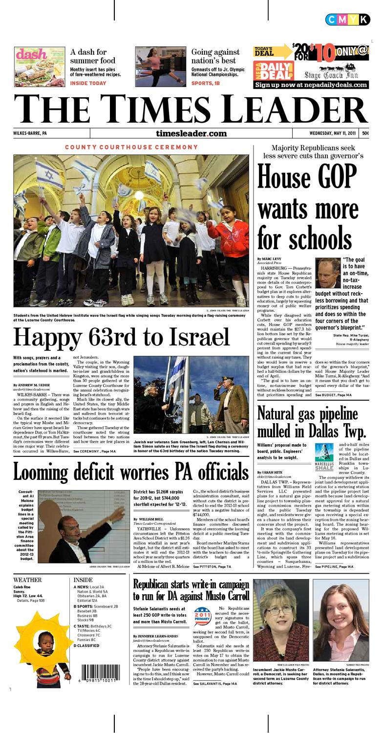 Times Leader 05-11-2011 by The Wilkes-Barre Publishing Company - issuu 74cbc1030