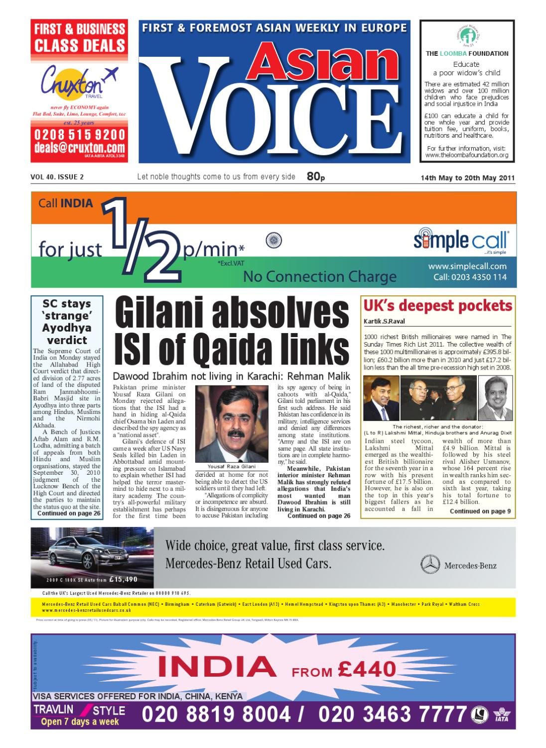 164395a8400 Asian Voice by Asian Business Publications Ltd - issuu