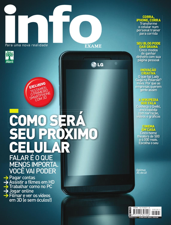 02a63a6f8 mar/2011 by Revista INFO - issuu