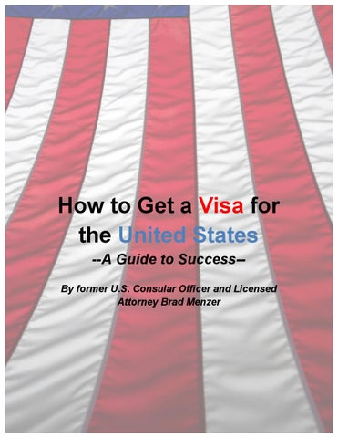 How to Get a Visa for the United States by Mey Lau - issuu