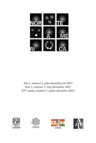 Revista Norteamérica No. 4 Año 2 Vol 2 by lucino gutierrez - issuu 1ad321ff5fa