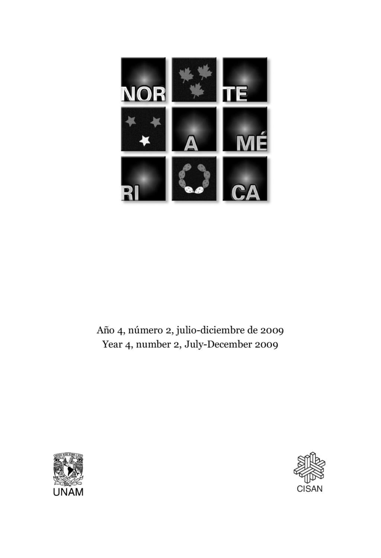 Revista Norteamérica No. 8 Año 4 Vol 2 by lucino gutierrez - issuu