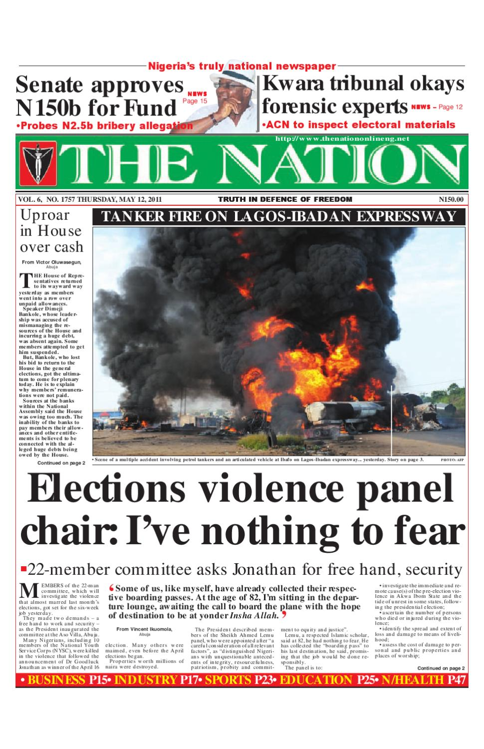 The Nation May 12 2011 By Issuu Razor Fence Wire And Electric Installation Kampala O Olxco