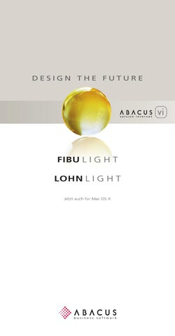fibulight lohnlight jetzt auch f r mac os x by abacus. Black Bedroom Furniture Sets. Home Design Ideas