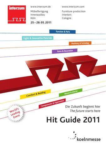 Interzum 2011 Hit Guide