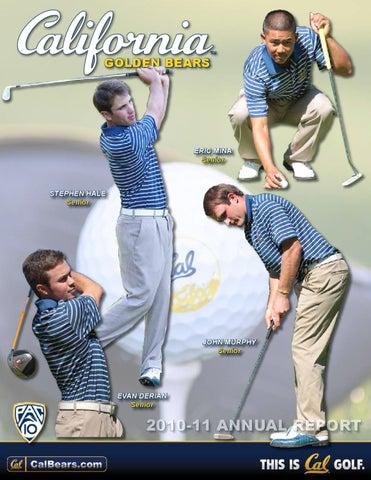 2010-11 California Men's Golf Annual Report by Cal Media ...
