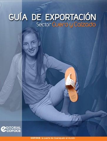 Sector By Cofoce De Cuero Issuu Exportación Calzado Guía U6pqx