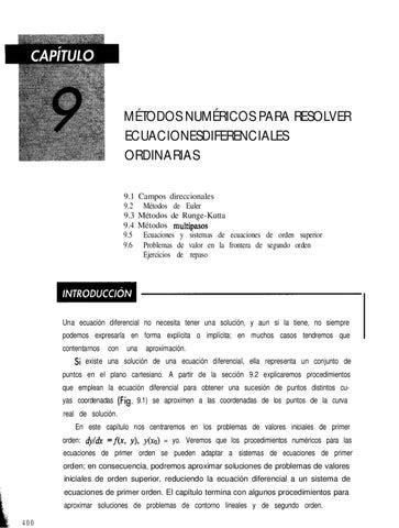 Ecuaciones Diferenciales - Capitulo 9 by Omar Torres - issuu
