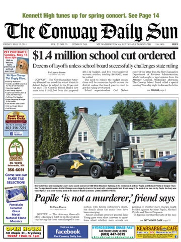 The Conway Daily Sun Friday May 13 2011 By Daily Sun Issuu