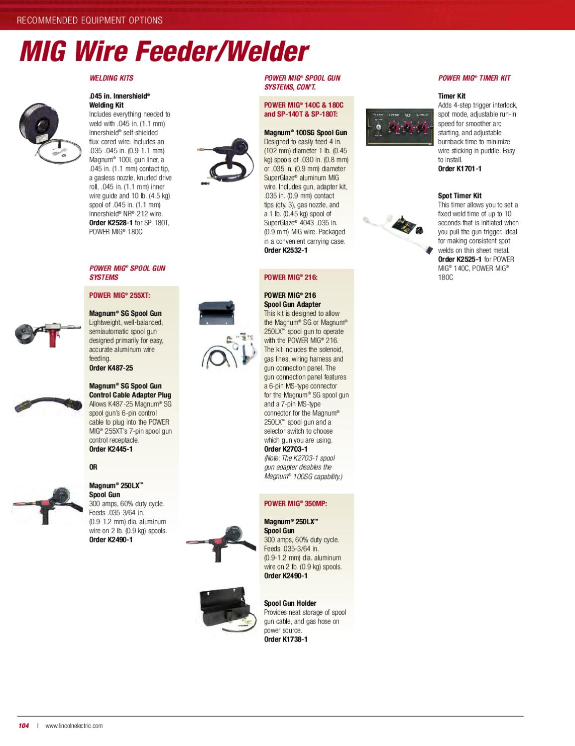 Catalogo Lincoln Electric completo ingles by Ezequiel Fausto - issuu