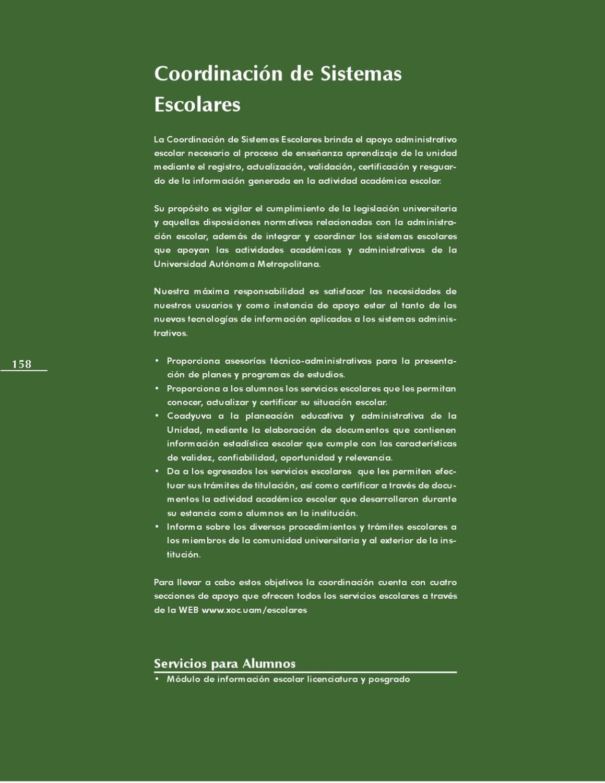 Libro Azul Universidad Autonoma Metropolitana Unidad