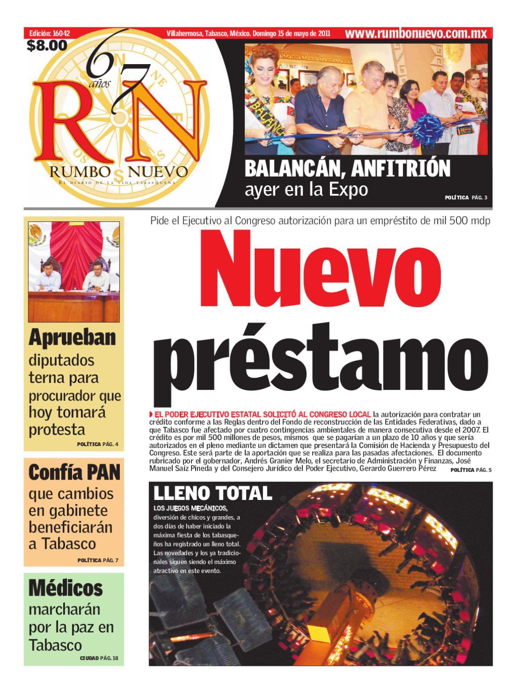Rumbo Nuevo Domingo 15 de mayo de 2011 by Grupo Rumbo Nuevo - issuu