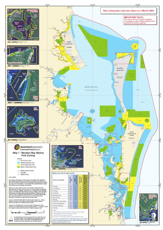 Moreton bay Marine Parks Zones by Myboatingshop.com - Issuu