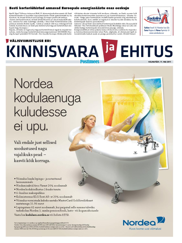 8db7332ac28 Kinnisvara ja Ehitus - mai 2011 by Postimees - issuu