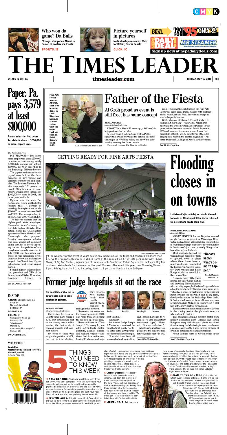 Times Leader 05-16-2011 by The Wilkes-Barre Publishing Company - issuu 253b7443c
