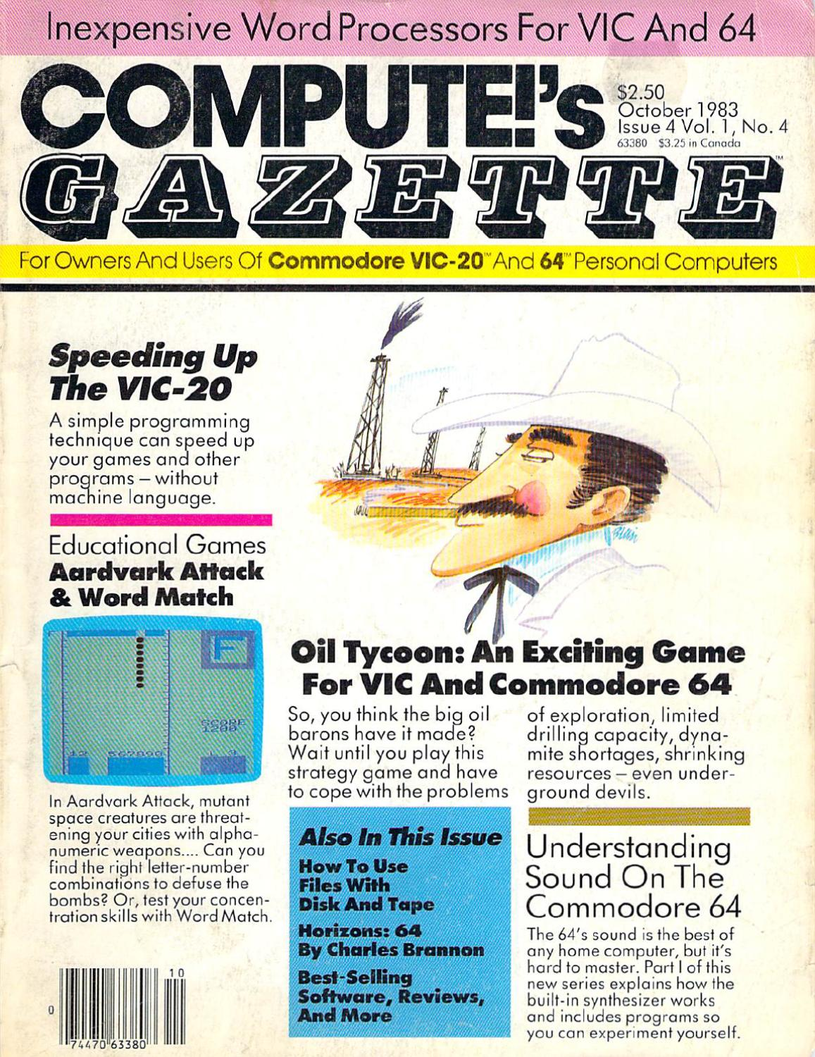 Compute Gazette Issue 04 1983 Oct By Zetmoon Issuu With The Pinout Wiring Upthe Connector Is Trivial Just Use Net