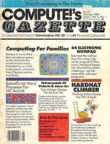 pute Gazette Issue 07 1984 Jan by Zetmoon issuu