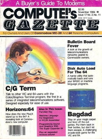 761324a7c565b Compute Gazette Issue 17 1984 Nov by Zetmoon - issuu