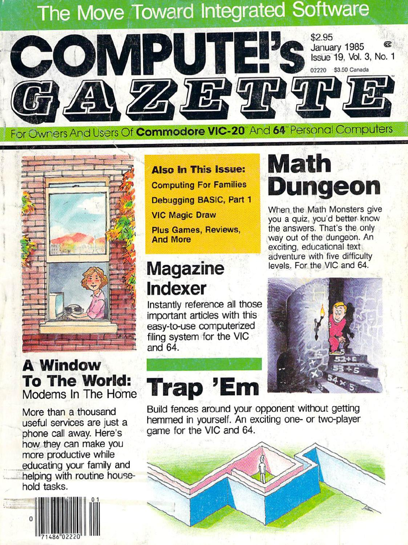 Compute Gazette Issue 19 1985 Jan By Zetmoon Issuu Can Bus Diagram Http Sturntechcom Blog 2010 11 10 Debugginga