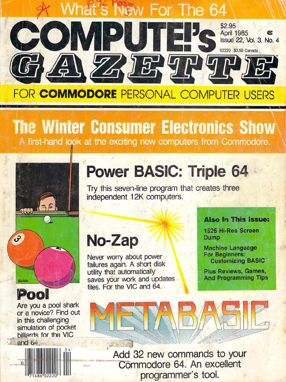 Compute_Gazette_Issue_22_1985_Apr by Zetmoon - issuu