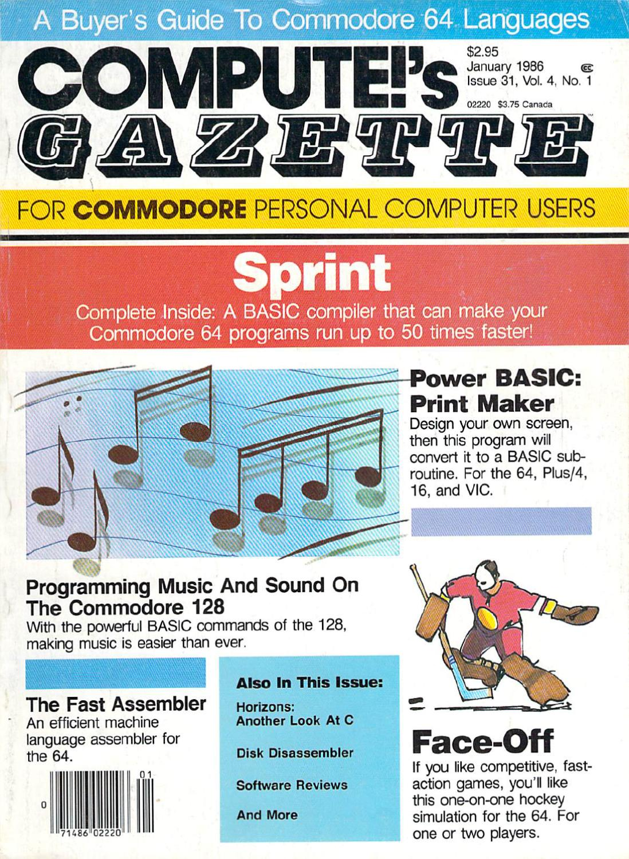 97f835617020a0 Compute Gazette Issue 31 1986 Jan by Zetmoon - issuu