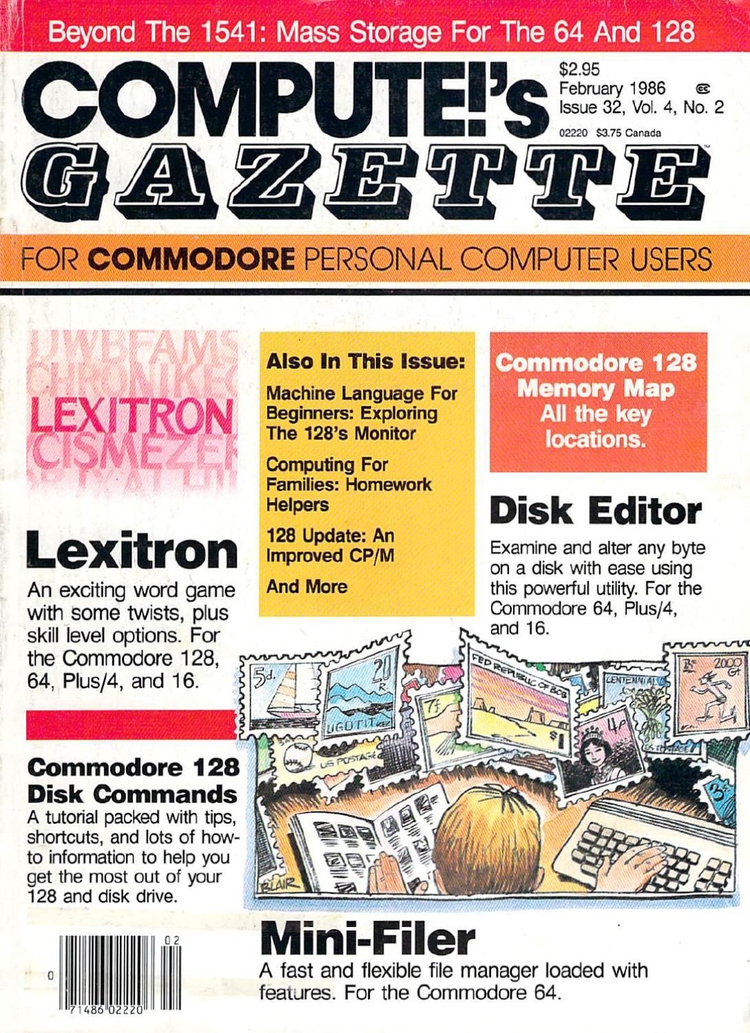 Compute Gazette Issue 32 1986 Feb By Zetmoon Issuu Issues With 317 Driver Laser Pointer Forums Discuss Pointers