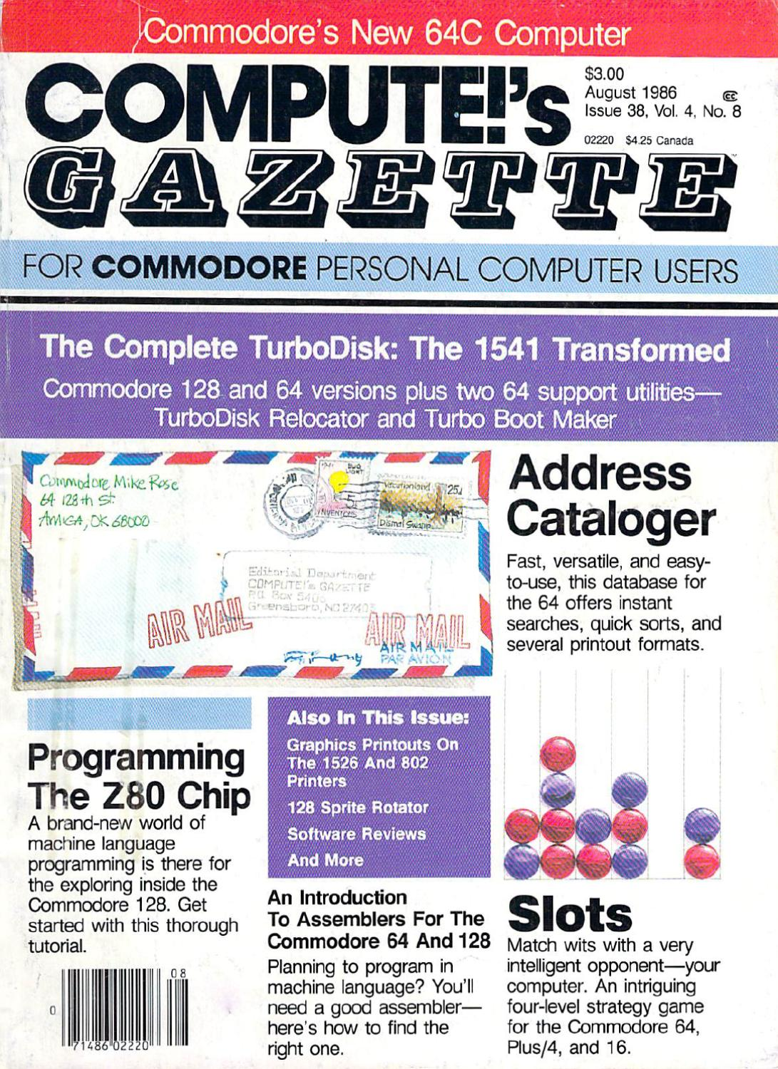 35aeef24c9354 Compute Gazette Issue 38 1986 Aug by Zetmoon - issuu