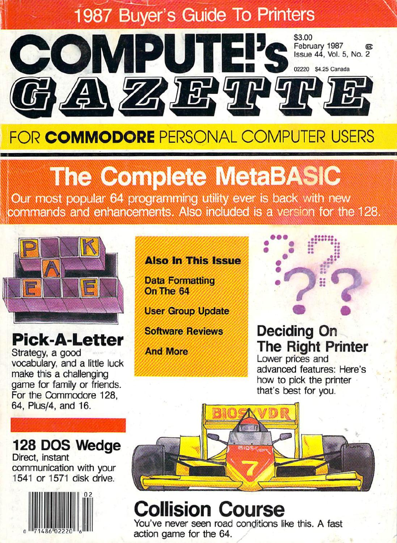 Compute Gazette Issue 44 1987 Feb By Zetmoon Issuu Hyperstart Dual Battery Isolator Wiring