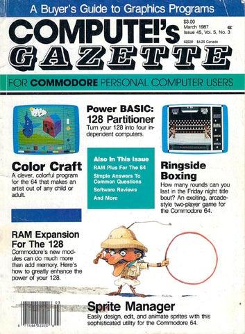 7b6af7248 Compute Gazette Issue 45 1987 Mar by Zetmoon - issuu