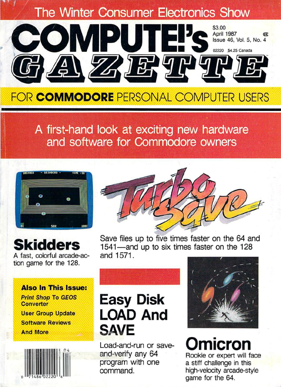 Compute Gazette Issue 46 1987 Apr By Zetmoon Issuu S14 Dash Wiring Diagram