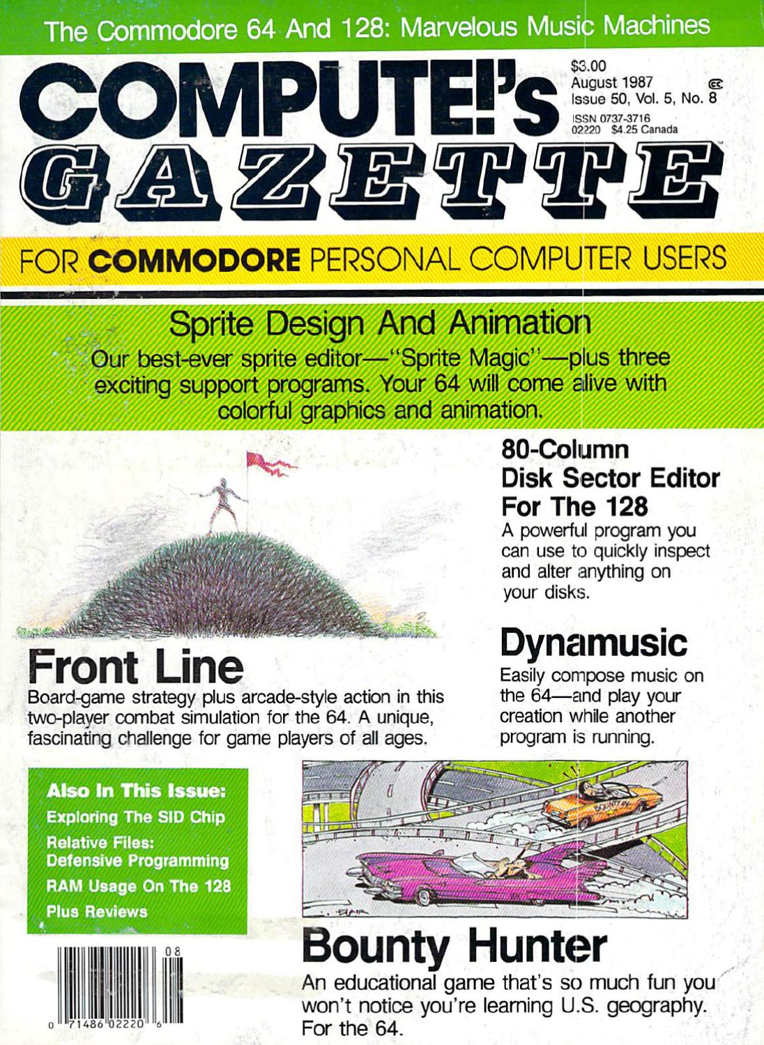 Compute Gazette Issue 50 1987 Aug By Zetmoon Issuu 7530 Msd Rpm Activated Switch Wiring Diagram