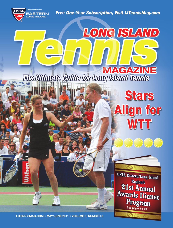 Long Island Tennis Magazine MayJune 2011 by United Sports