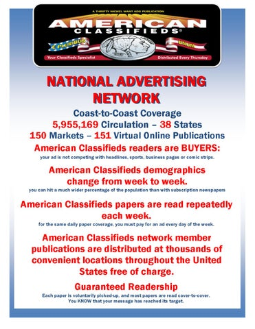 National Media Kit 2010 by American Classifieds - issuu