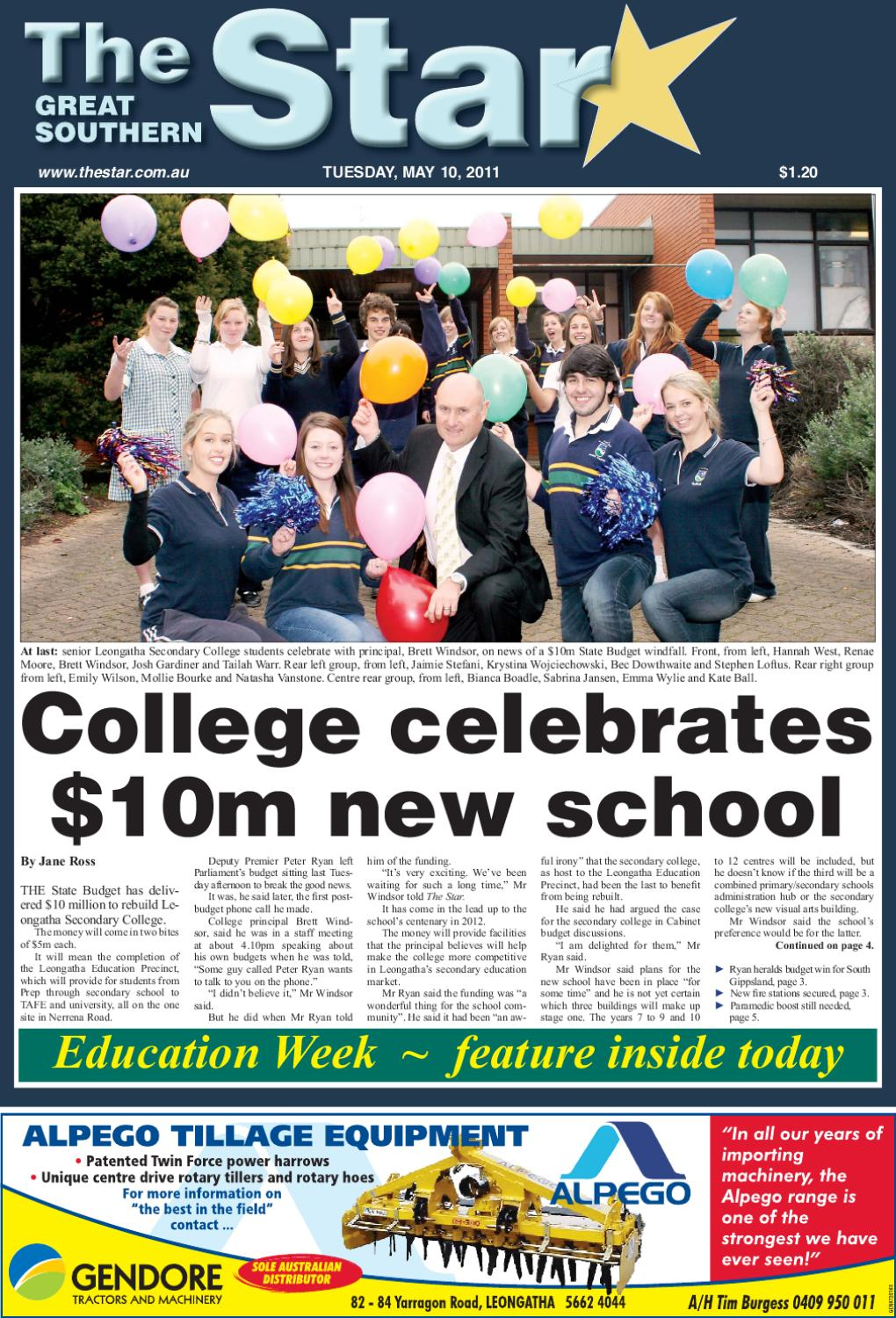 The Great Southern Star May 10 2011 By The Great Southern Star Issuu