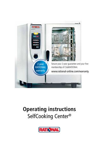 rational operation manual by ashley garrett issuu rh issuu com rational combi oven repair manual rational climaplus combi cpc service manual