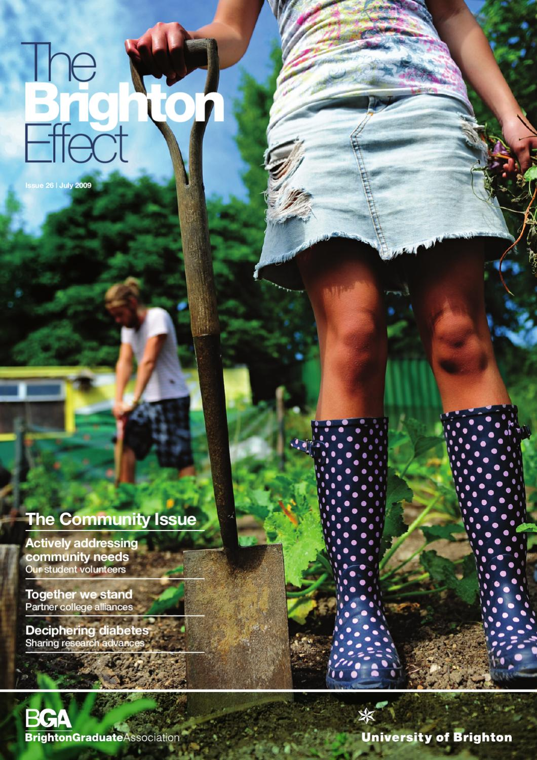 The Brighton Effect Magazine July 2009 by University of Brighton ...