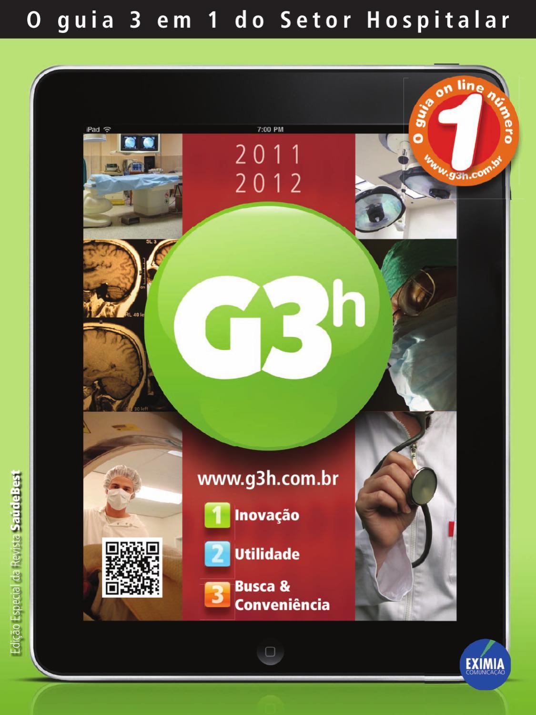 Revista G3 Hospitalar 2011 By Eximia Comunicacao Ltda Issuu