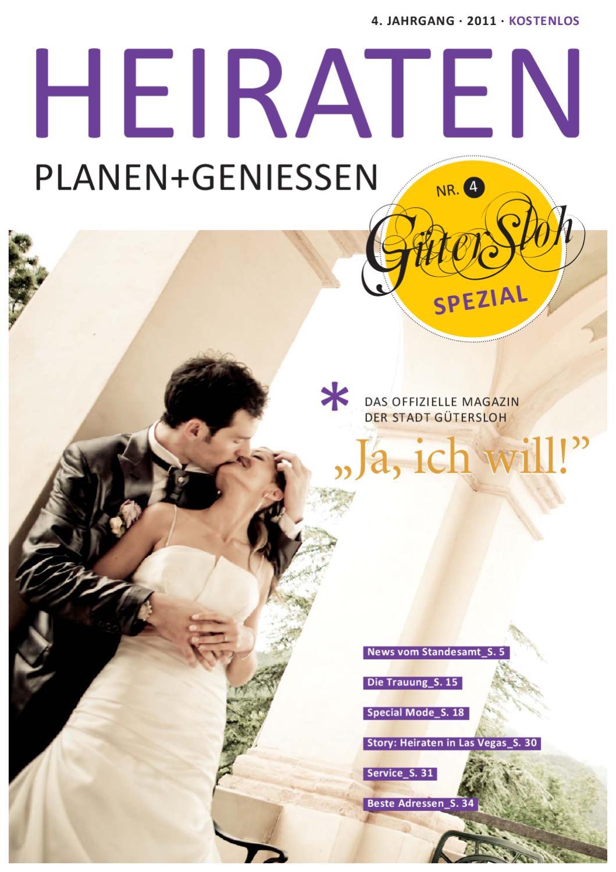 Heiraten Spezial 2011 by Güterslohs Stadtmagazin - issuu