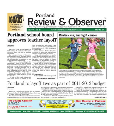Portland Review & Observer by Lansing State Journal - issuu