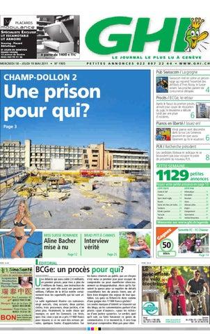 GHI édition Du Mai By GHI Lausanne Cités Issuu - Porte placard coulissante jumelé avec serrurier bourg la reine