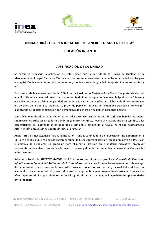 UNIDAD DIDÁCTICA \