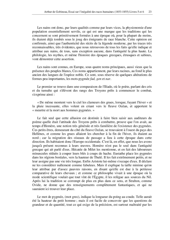 Hauteur Ciel De Pluie gobineau - essai sur l'inegalite des races 2 sur 2 – ebook