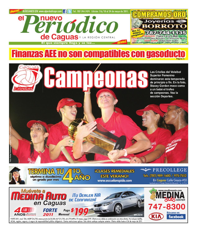 El Nuevo Periodico De Caguas Edicion 116 By El Nuevo Periodico  # Limpio Muebles Caguas
