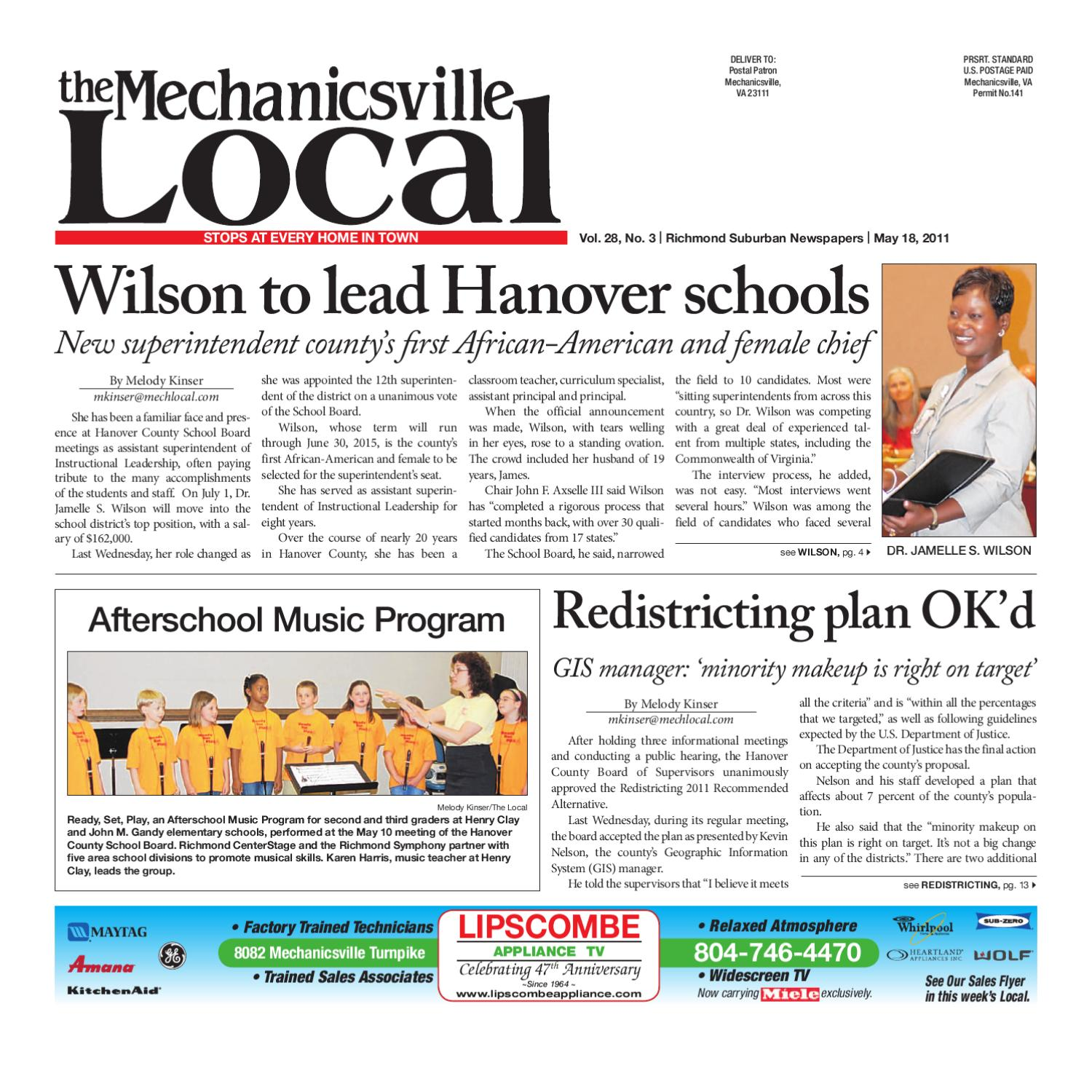 05/18/2011 by The Mechanicsville Local - issuu